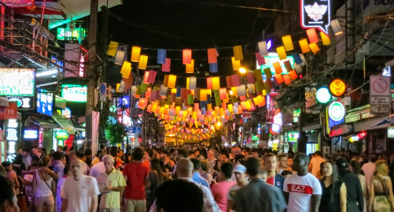 Phuket thailand nightlife