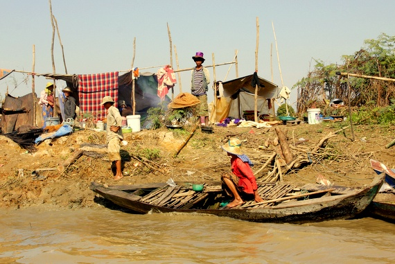 River tour from Battambang to Siem Reap