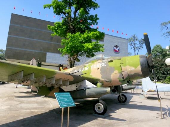 War Remnants Museum Planes