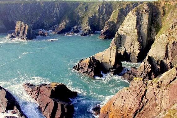 cliff walks st davids