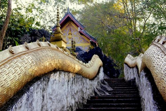 Peaceful parks dot Phu Si hill