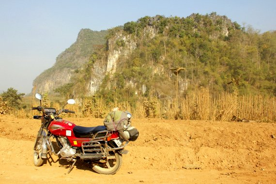 Can you take a motorcycle from Luang Prabang Laos