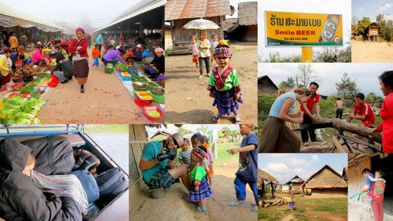 laos tribal villages