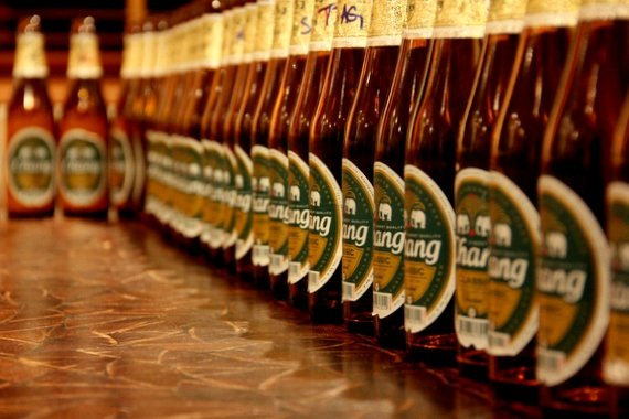 Be careful with Chang Beer