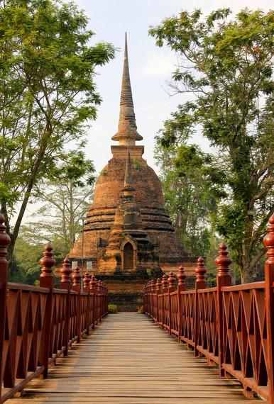 Historical Park in Sukhothai