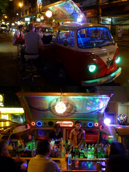 VW bus bars in Thailand