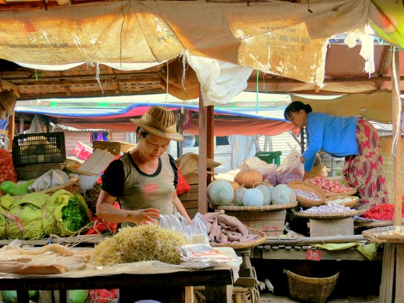 Markets of Pyin Oo Lwin