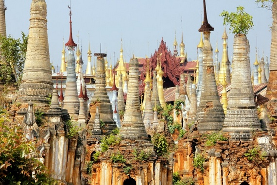 Temples of Inle Lake