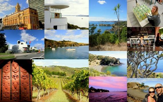 Auckland and Waiheke travel photos