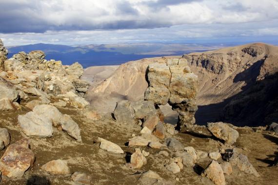 Rocks of Tongariro Alpine Crossing
