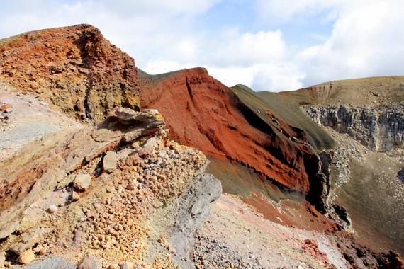 Volcanoes of Tongariro Alpine Crossing