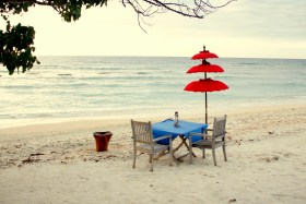 Gili T Beach Dining