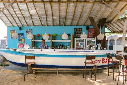 The Boat Bar at Gili T