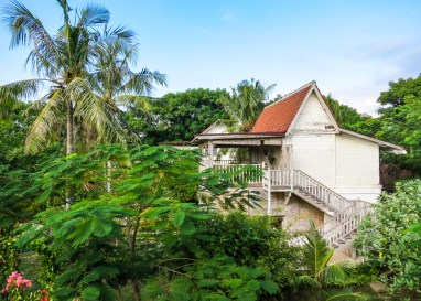 Sustainable houses at Gili Eco Villas
