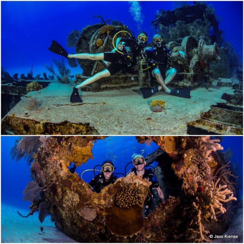 Diving Doc Poulson Wreck