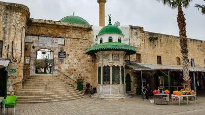 The historic El-Jazzar mosque
