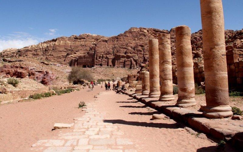 Roman Colannade Petra
