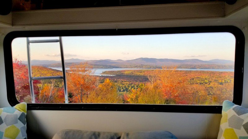 RVing New England in fall