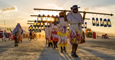 Burning Man: 2 Virgins on 9 Days in Black Rock City