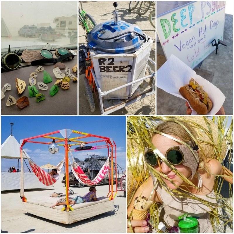 food at Burning Man