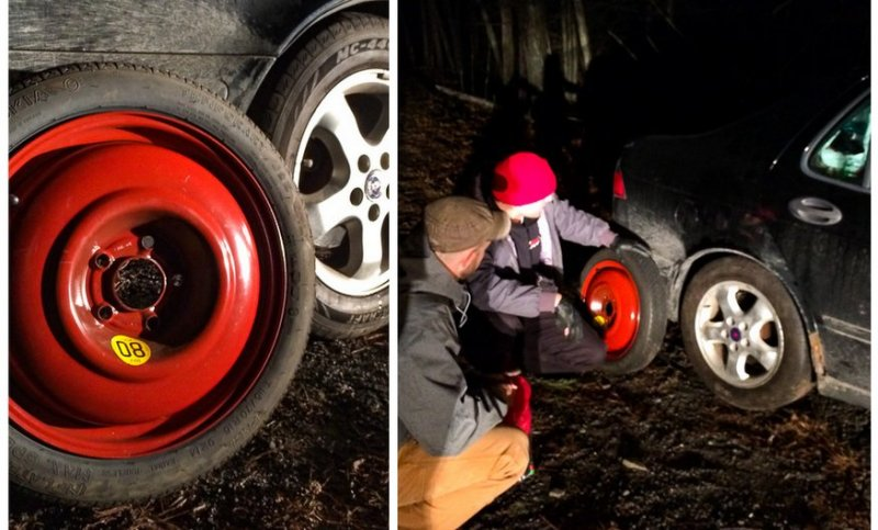 changing a spare Tire