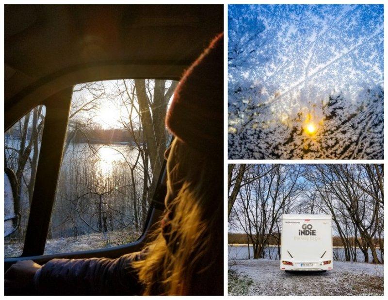 Poland road trip in Winter