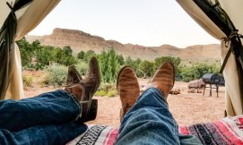 Cowboy Boots Glamping