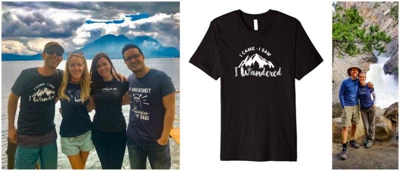 Art of Wanderlust T-shirts
