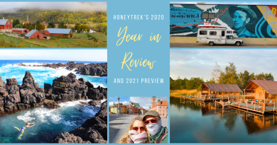 HoneyTrek 2020 Year in Review & 2021 Travel Preview