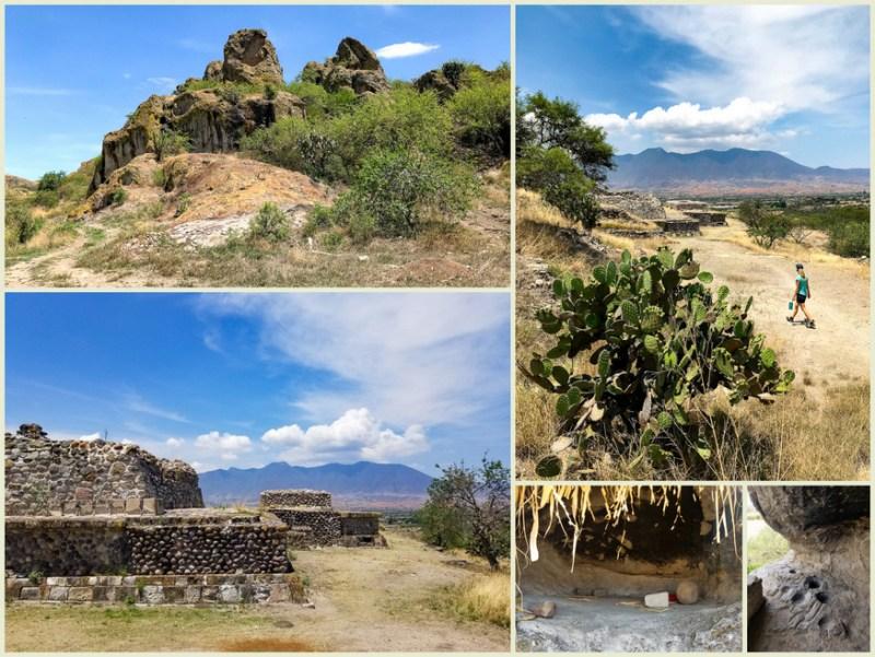 caves of yagul and mitla
