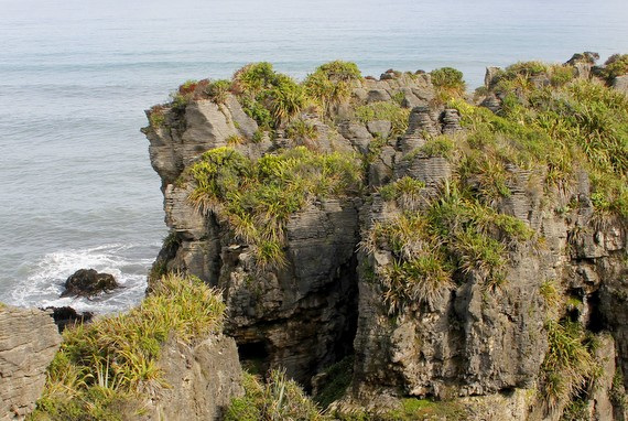 Puankaiki Pancake Rocks