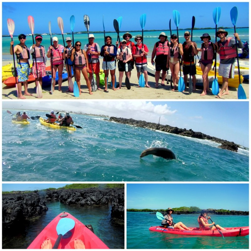 Kayak the Galapagos