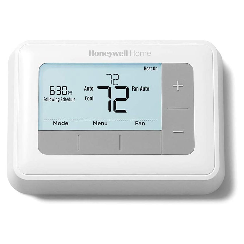 4 Wire Wiring Diagram For Honeywell Digital Thermostat