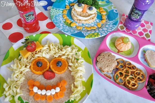 Fun Kids Lunches Honey Were Home