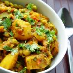 A Classic Punjabi Dish… Aloo Matar (Potatoes and Green Peas)