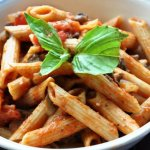 Perfection in every bite… Mushroom Penne Pasta