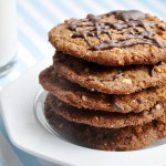 Flourless Peanut Butter Cookies (Reduced Fat & 210 Calories)