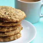 Healthier Peanut Butter Oatmeal Chocolate Chip Cookies & Good News!  (Reduced Fat & 210 Calories)