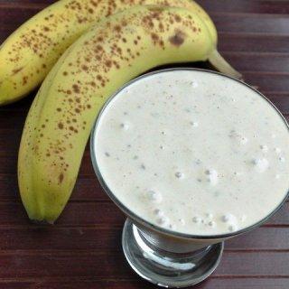 Mango Banana CHO-Smoothie & An Indian Reception!