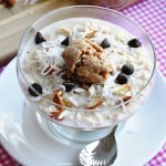 Almost Vegan… Almond Joy Oatmeal