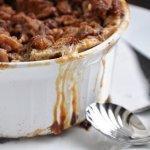 healthier… Cinnamon Raisin Bread Pudding
