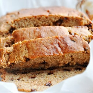 Banana Chocolate Chip Buttermilk Bread… lightened up!