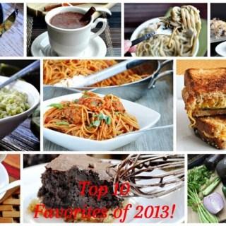 Top 10 Favorite Recipes of 2013!