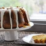 Pumpkin Bundt Cake with Maple Cream Cheese Glaze