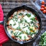 Eggs in Purgatory (aka Italian Shakshuka)