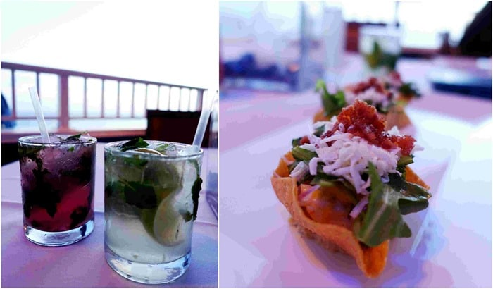 Appetizers - Entrees - Havana Blue, Marriott Frenchmen's Reef St. Thomas