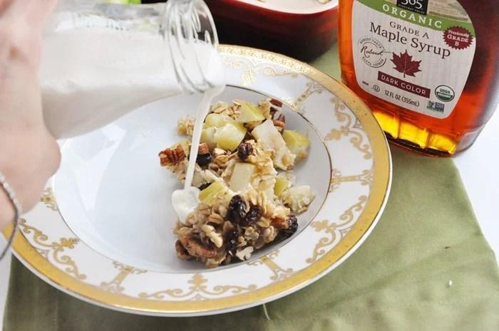 Apple Pie Baked Oatmeal (24)
