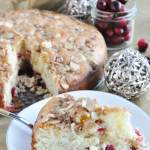 Cranberry Almond Coffee Cake… Farewell 2016