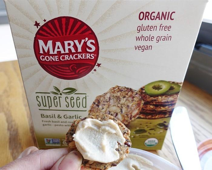 Mary's Gone Crackers Basil & Garlic