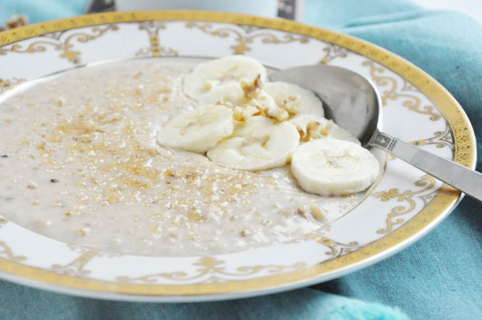 Classic Banana Walnut Steel Cut Oats (16)